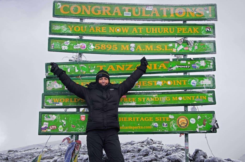 Emma Harrison - Life lessons climbing Mt Kilimanjaro