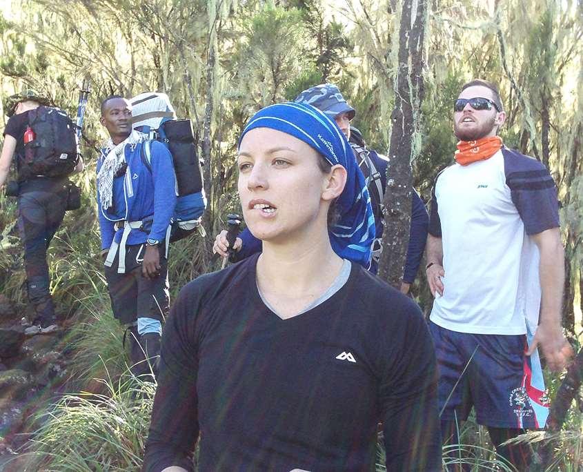 Sizing up Mt Kilimanajro on the charity adventure
