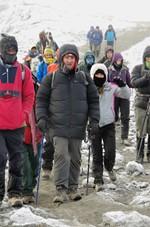 Michael Donovan is making his way to the summit of Kilimanjaro on the Peak Potential Adventures Kilimanjaro trek.