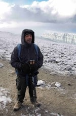 Tony Saliba is savouring the moment of summiting the highest free-standing mountain in the world on Peak Potential Adventures Kilimanjaro trek.