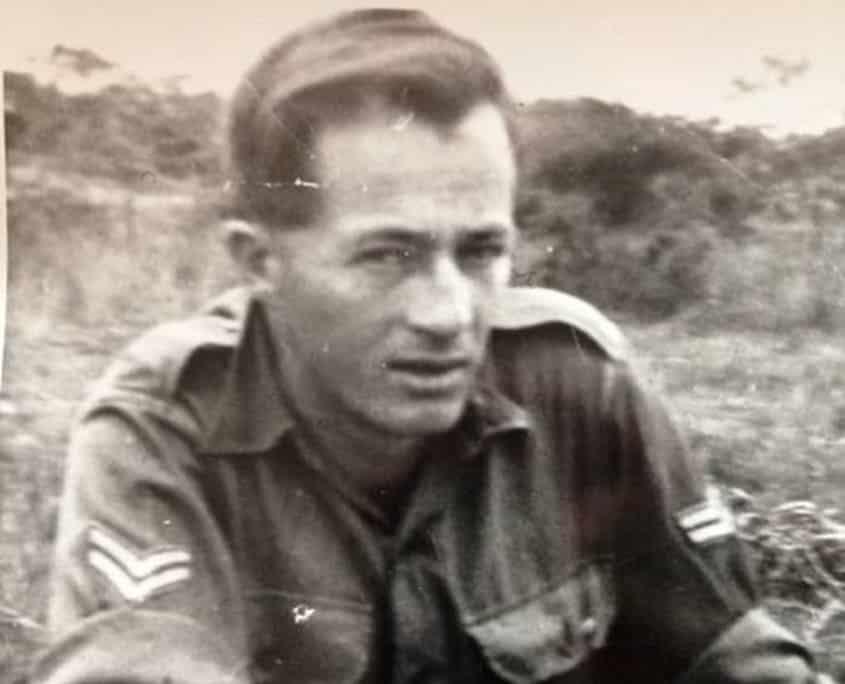 Photo of Bob Bowtell in Vietnam