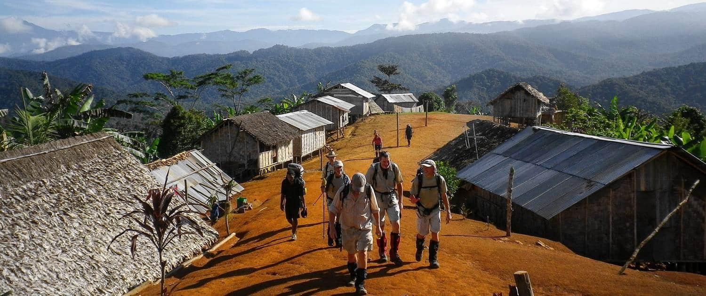 Nauro Village on the Kokoda Track