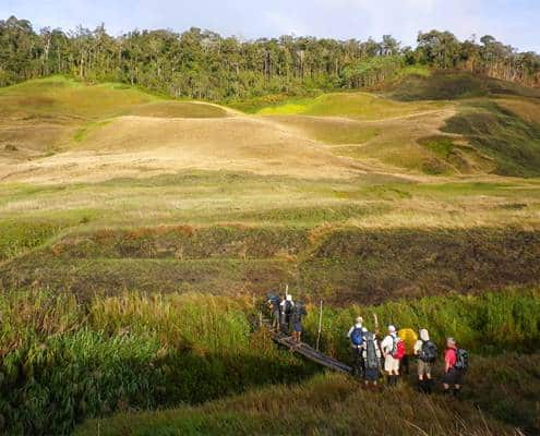 Myola Lakes side trek on the Kokoda Track