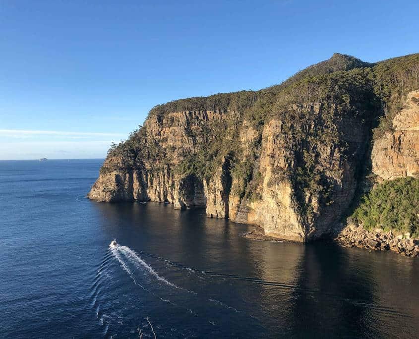 Waterfall Bay on the Tasman Peninsula